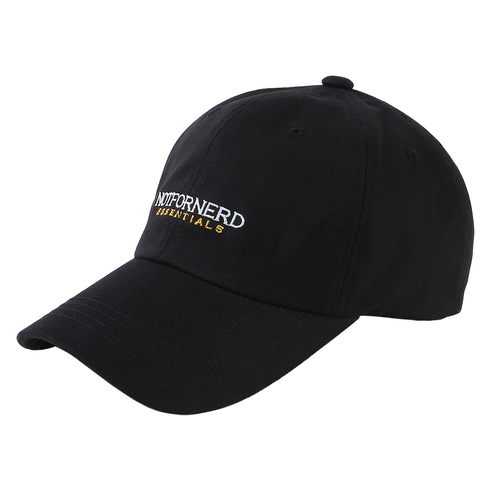 Essential Logo Cap [Black],NOT4NERD