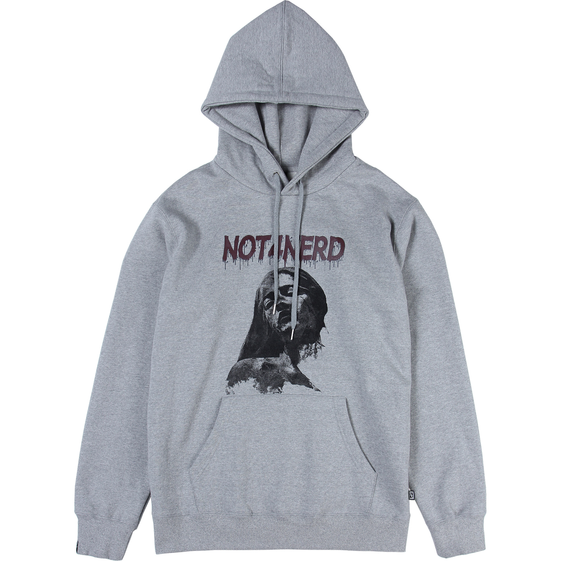 Pain Pullover Hood [Grey],NOT4NERD