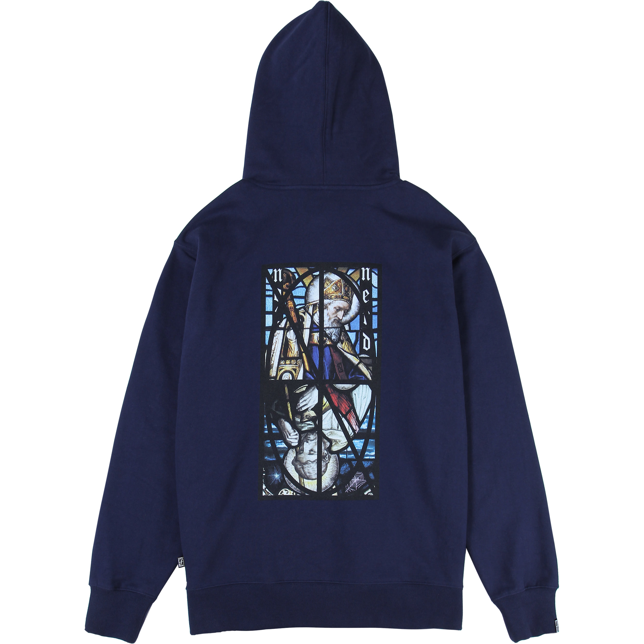 Two Pope Pullover Hood [Navy],NOT4NERD