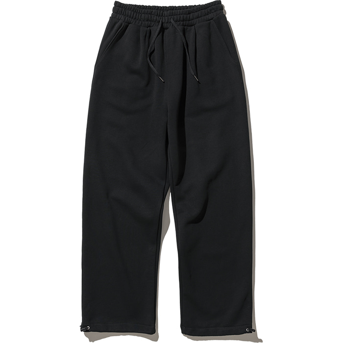 String Sweat Pants - Black,NOT4NERD