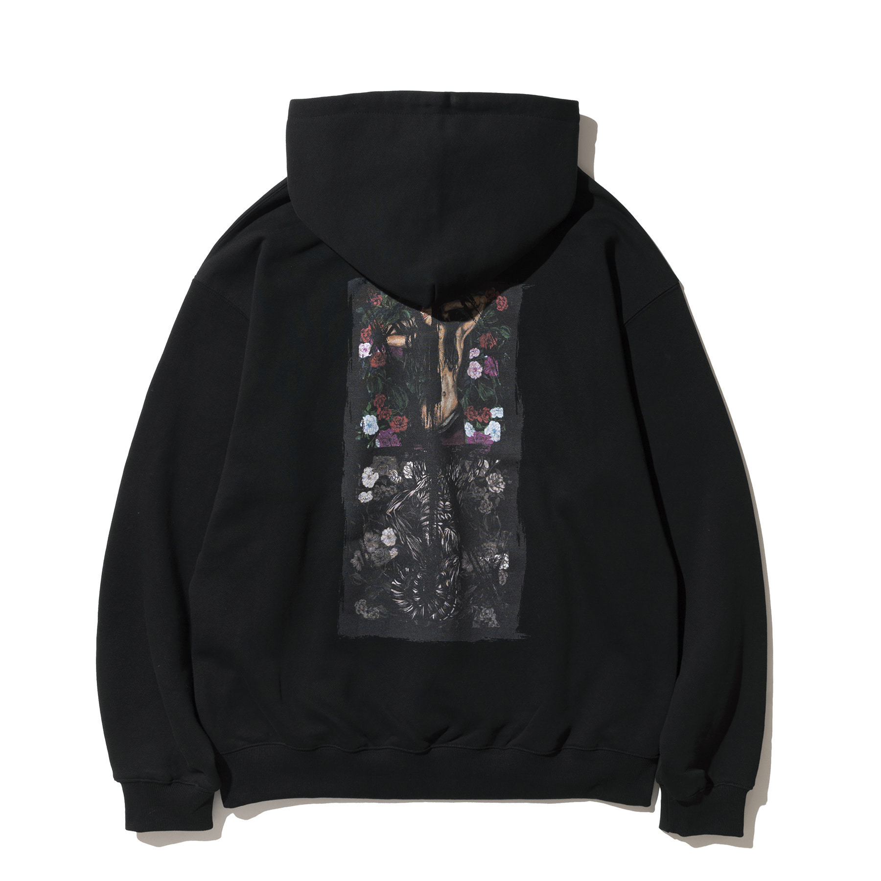 Voluptas Pullover Hood - Black,NOT4NERD