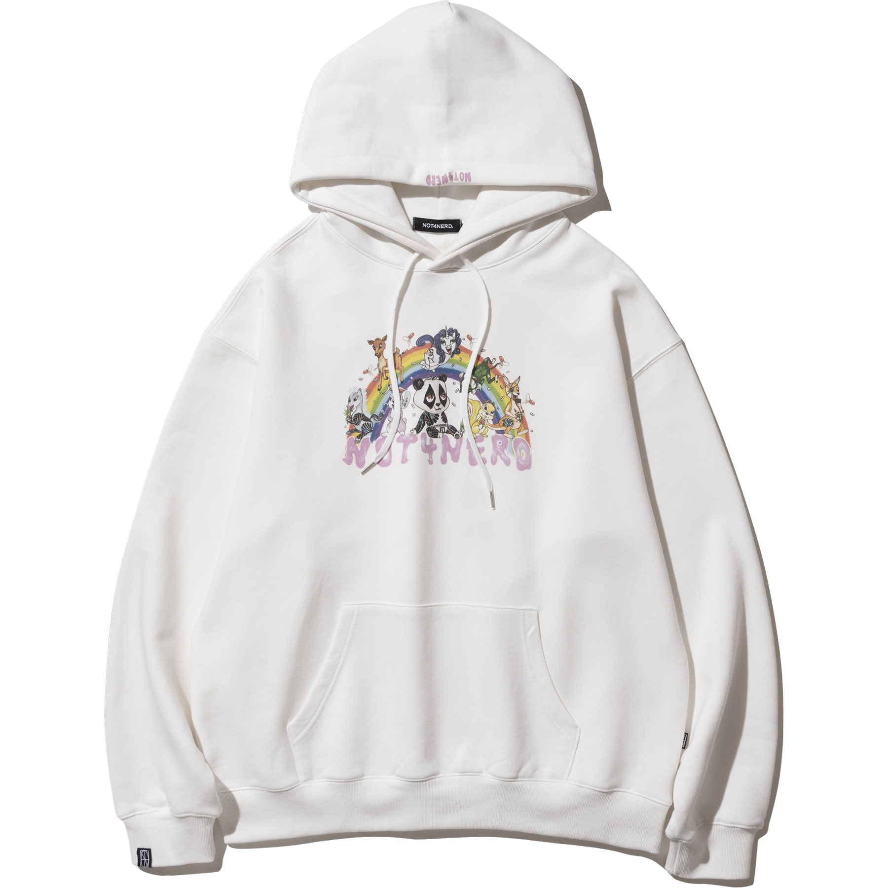 Pony Land Pullover Hood - Ivory,NOT4NERD