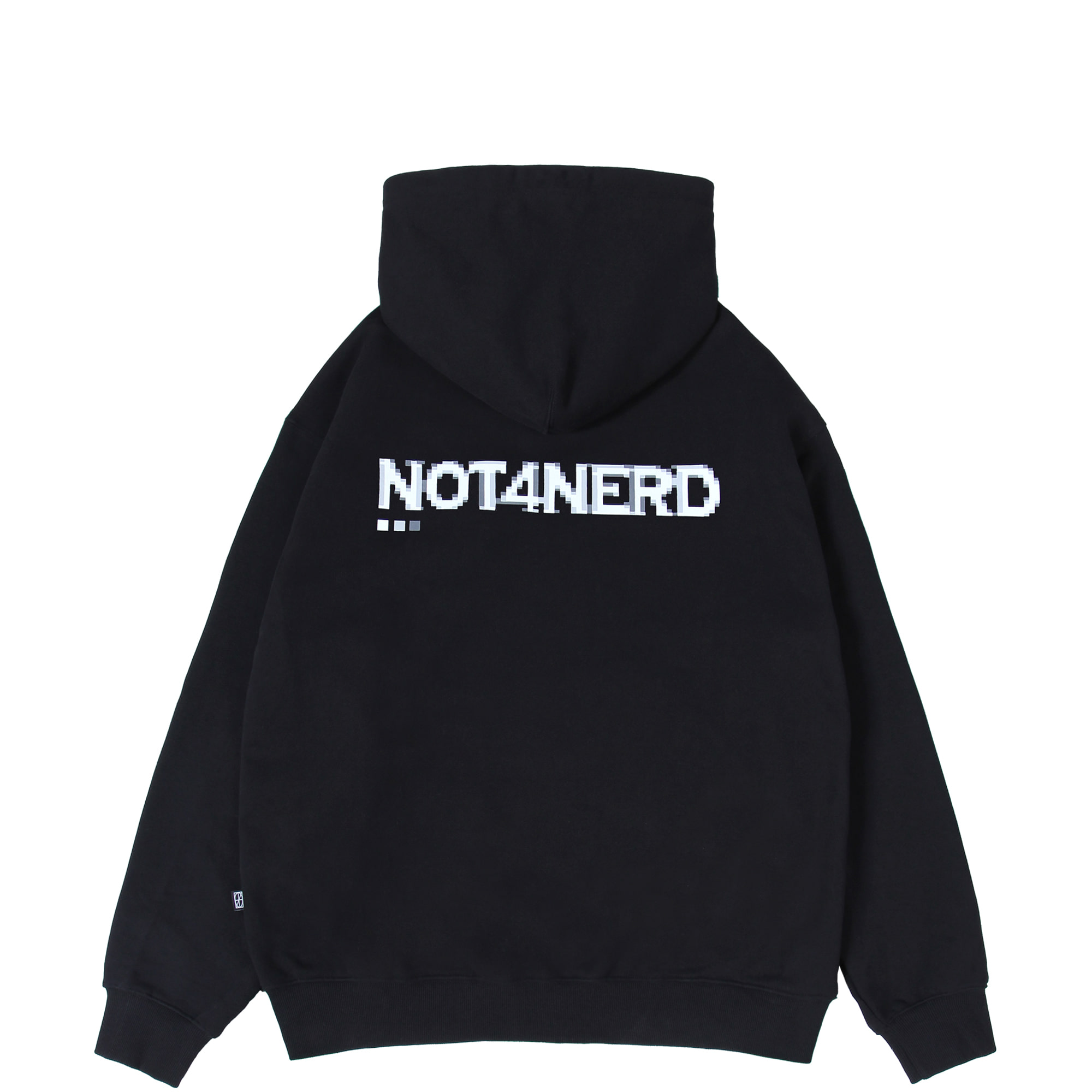 Dot Pc Mosaic Logo Pullover Hood [Black],NOT4NERD