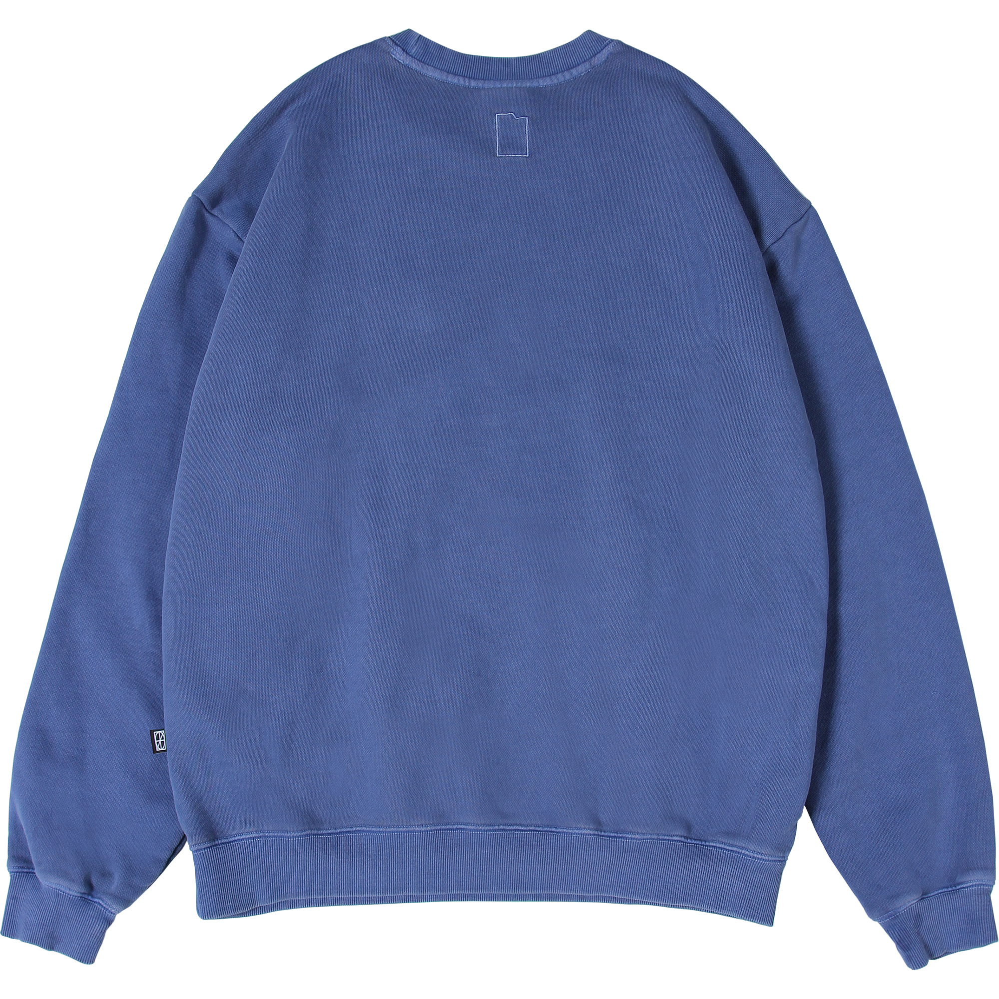 Pigment Card Wallet Crewneck [Midnight Blue],NOT4NERD