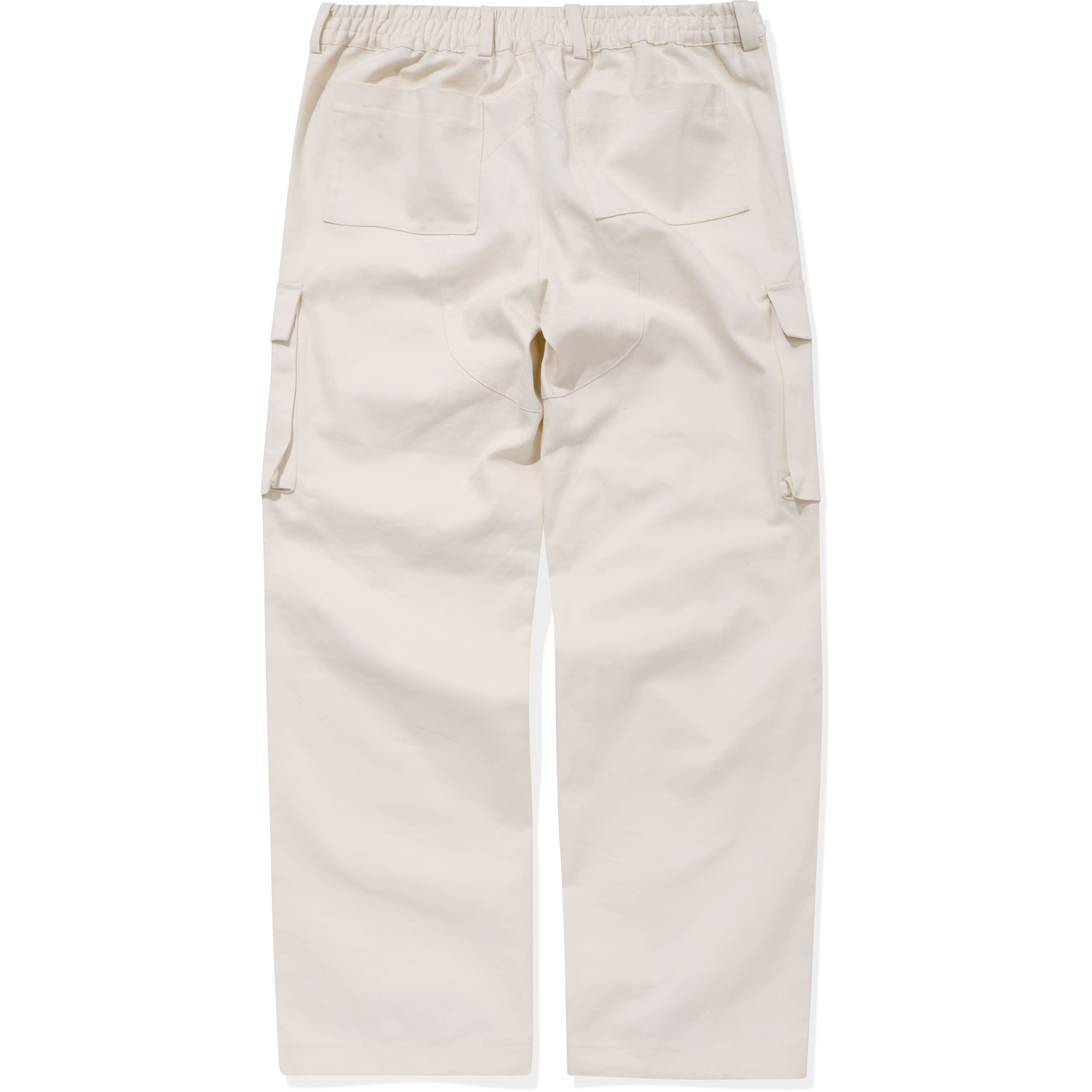 Cargo Pocket Pants Cream,NOT4NERD