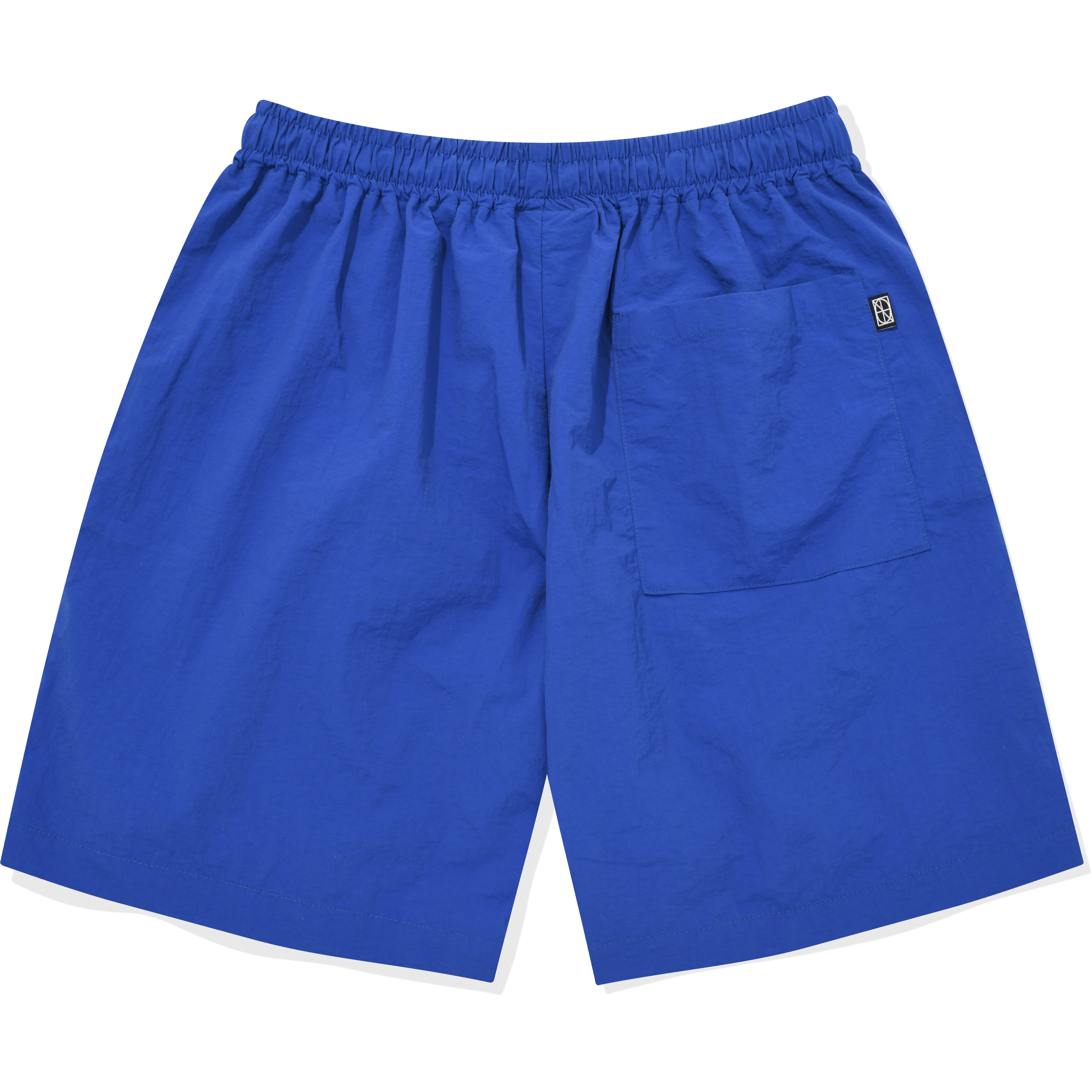 Nylon Zipper Short Blue,NOT4NERD