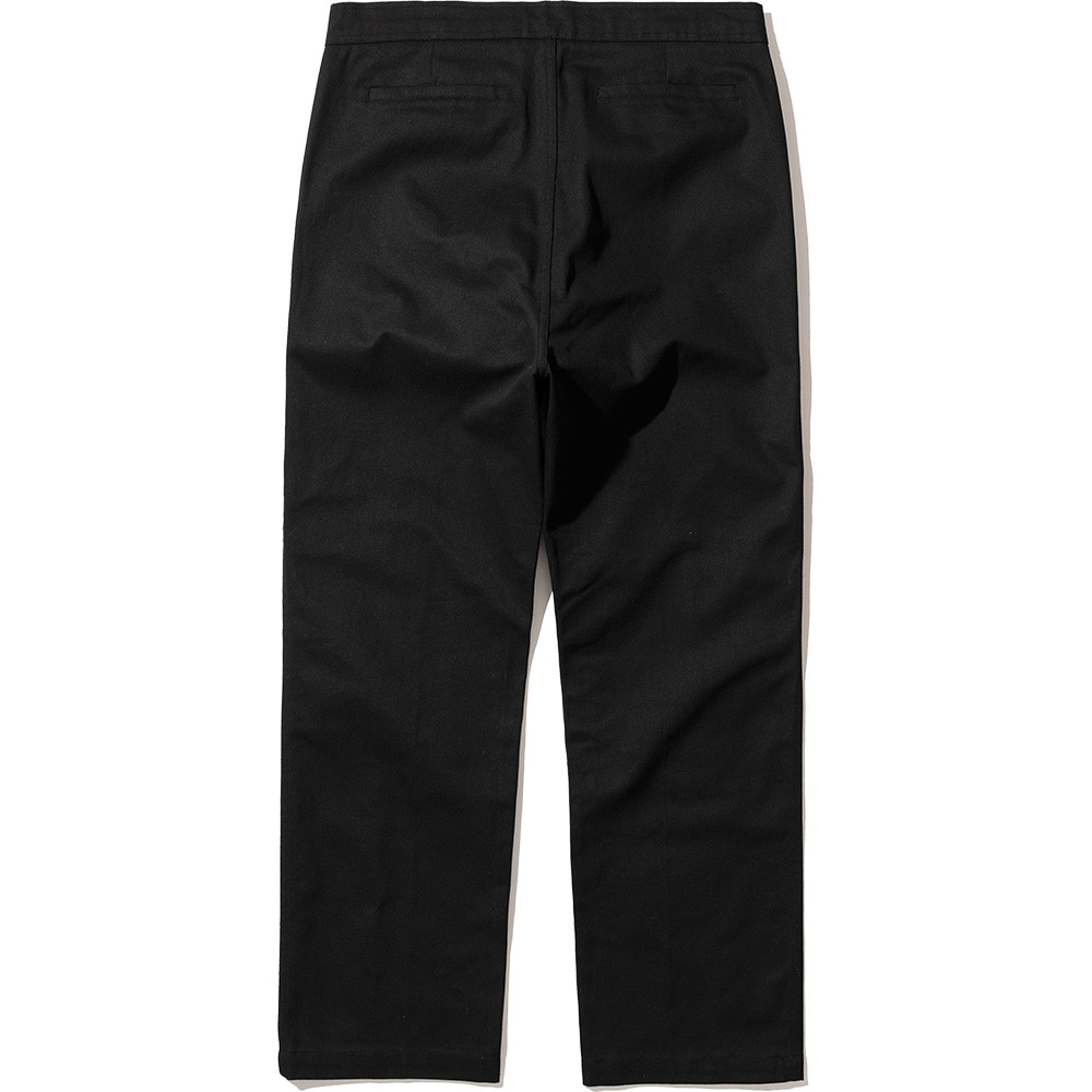Pin Tuck Pants Black,NOT4NERD