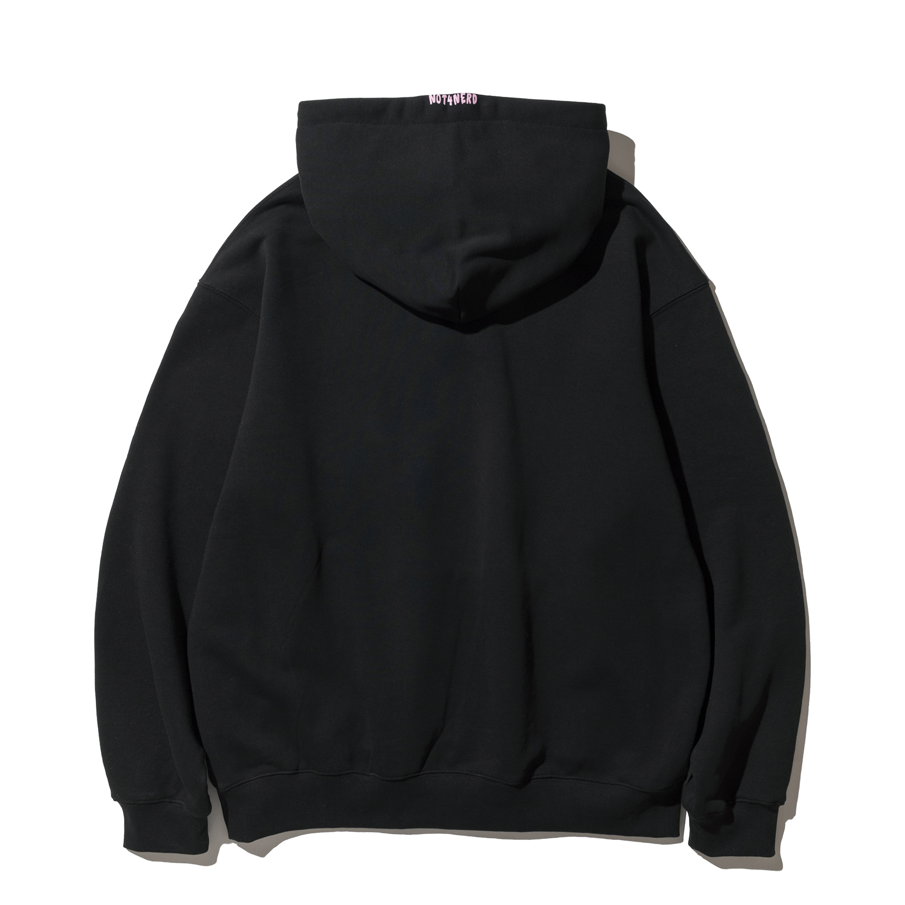 Pony Land Pullover Hood - Black,NOT4NERD