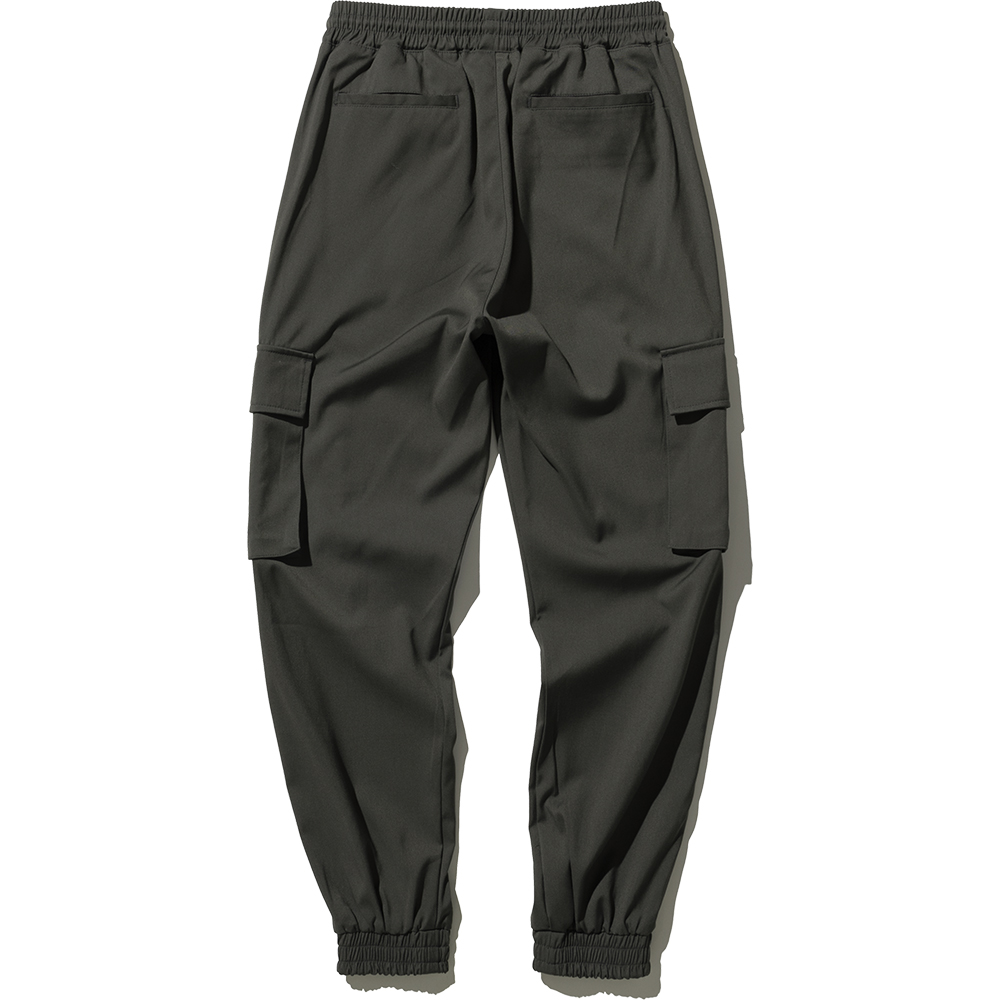 Cargo Jogger Slacks Pants - Khaki,NOT4NERD