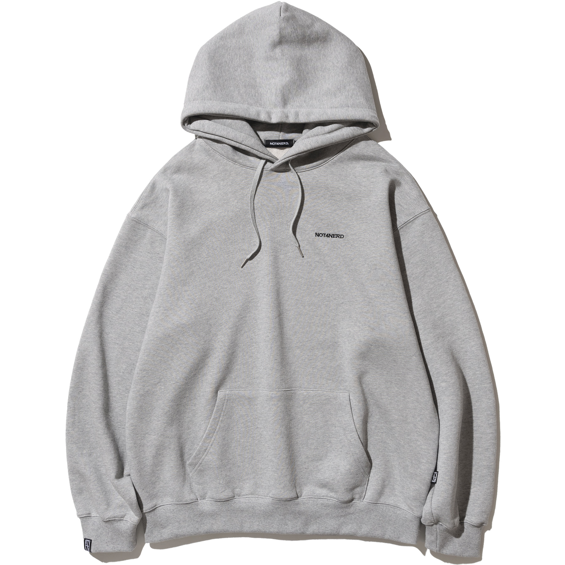 Voluptas Pullover Hood - Grey,NOT4NERD